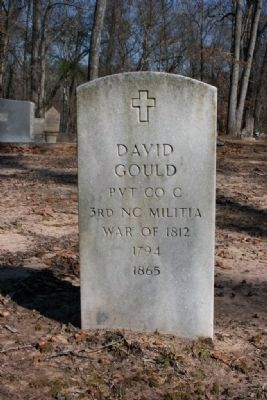 Headstone of another Veteran of the War of 1812 buried at the Old Quinn Burying Ground image. Click for full size.
