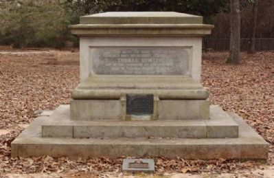 Sumter Grave Memorial, west face image. Click for full size.