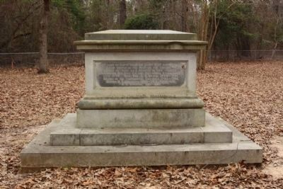 Sumter Grave east face image. Click for full size.