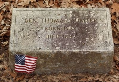 Sumter Grave Photo, Click for full size
