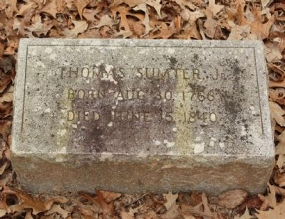 Sumter Grave image. Click for full size.