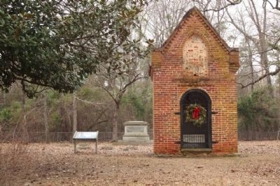 General Thomas Sumter Grave (distant) Site and Memorial Park Photo, Click for full size