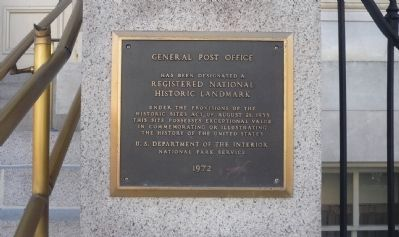 General Post Office Marker image. Click for full size.