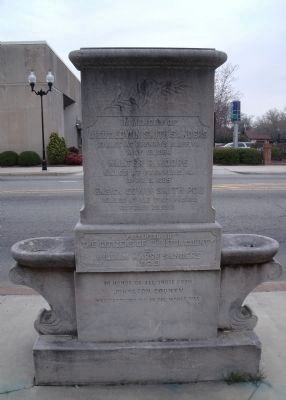 Johnston County Fountain Memorial image. Click for full size.