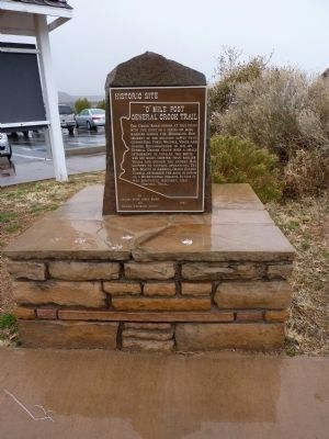 """0"" Mile Post General Crook Trail Monument image. Click for full size."