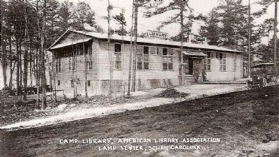 Camp Library, Camp Sevier, SC Photo, Click for full size