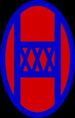 30th Infantry Division Emblem Photo, Click for full size