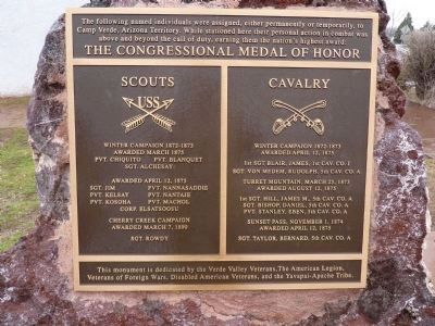 The Congressional Medal of Honor Marker Photo, Click for full size
