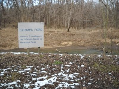 Bynam's Ford Historic District Marker Photo, Click for full size