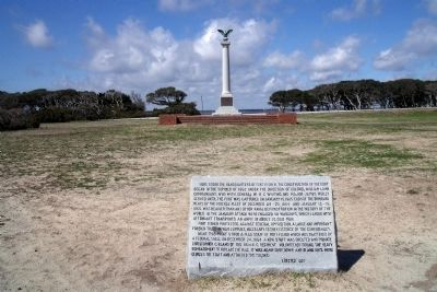 Headquarters of Fort Fisher Marker Photo, Click for full size