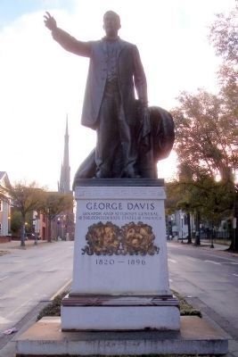 George Davis UDC Monument (west face) Photo, Click for full size