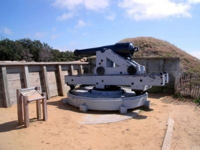Shepherd's Battery gun platform. image. Click for full size.