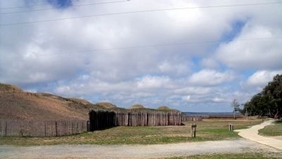 Fort Fisher Historic Site Tour Trail image. Click for full size.