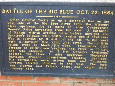 Battle of the Big Blue Marker Photo, Click for full size