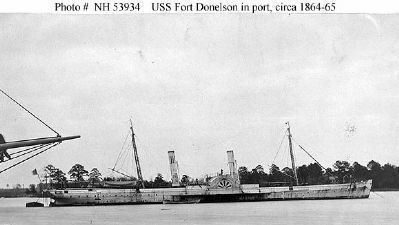 USS <i>Fort Donelson</i> (1864-1865). image. Click for full size.