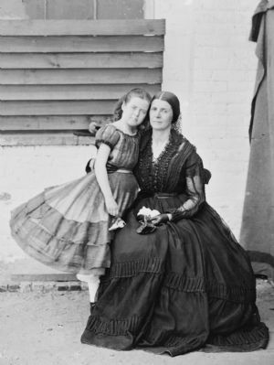 Mrs. Greenhow & Daughter image. Click for full size.