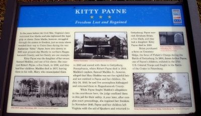 Kitty Payne Marker Photo, Click for full size