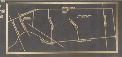 Site Map Displayed on Marker image. Click for full size.