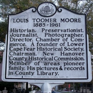 Louis Toomer Moore Marker image. Click for full size.