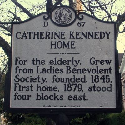 Catherine Kennedy Home Marker image. Click for full size.