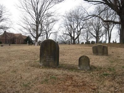 New Providence Church Cemetery Photo, Click for full size
