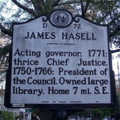 James Hasell Marker image. Click for full size.