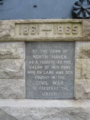 North Haven Soldiers Monument image. Click for full size.
