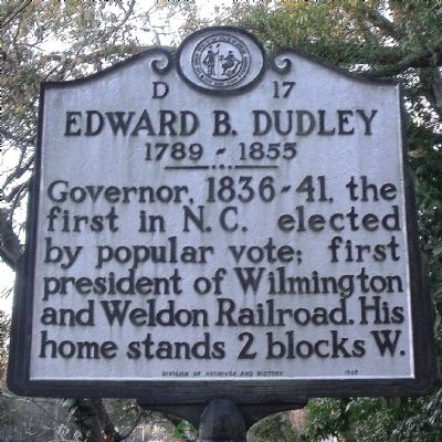 Edward B. Dudley Marker image. Click for full size.