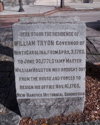 William Tryon Marker Photo, Click for full size
