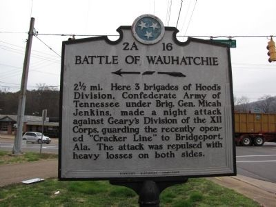 Battle of Wauhatchie Marker Photo, Click for full size