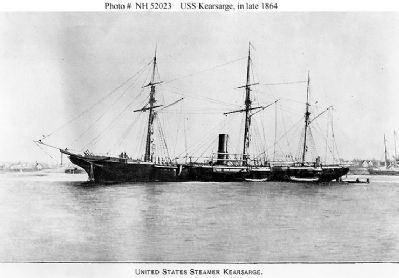 United States Steamer <i>Kearsarge</i> Photo, Click for full size