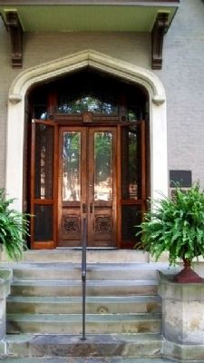 Lane-Hooven House Entrance image. Click for full size.