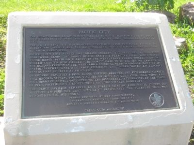Pacific City Marker image. Click for full size.