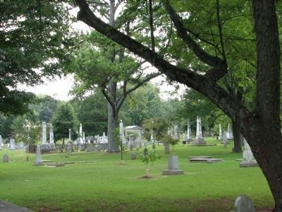 Maple Hill Cemetery - Established 1818 by the City of Huntsville Photo, Click for full size