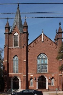 Washington Street Methodist Church image. Click for full size.