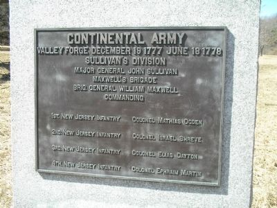 Sullivan's Division Marker image. Click for full size.