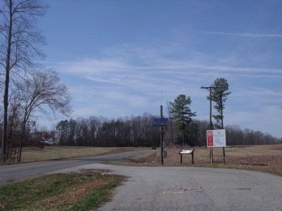 Amelia Springs Rd (facing north) Photo, Click for full size