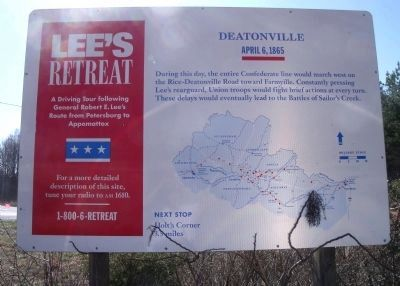 Deatonville Marker image. Click for full size.