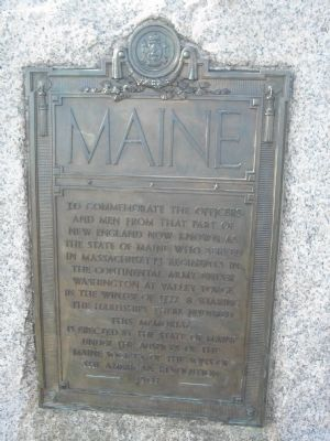 Maine Marker image. Click for full size.