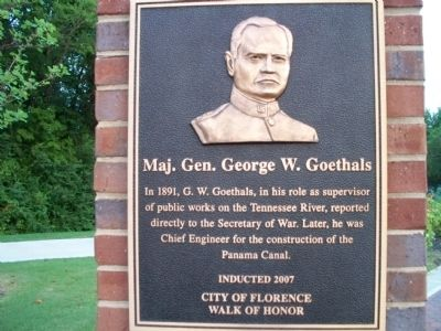 Maj. Gen. George W. Goethals Marker image. Click for full size.