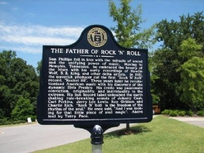 The Father of Rock 'N' Roll Marker - Side A image. Click for full size.