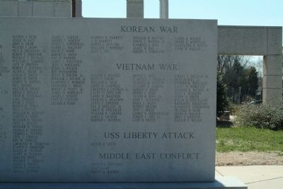 Alamance County War Memorial Marker Photo, Click for full size