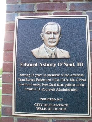Edward Asbury O'Neal, III Marker image. Click for full size.