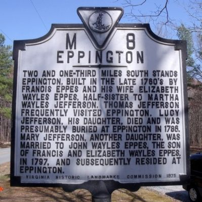 Eppington Marker image. Click for full size.