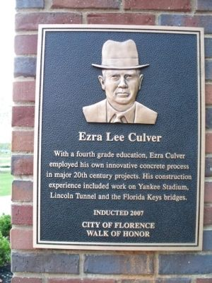 Ezra Lee Culver Marker image. Click for full size.