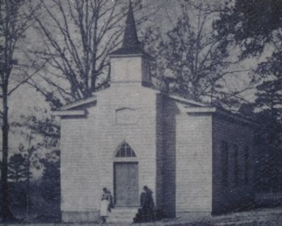 The original Russell Grove Church image. Click for full size.