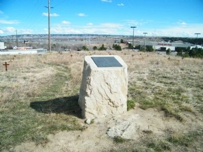 Boothill Cemetery monument with description of Historical Significance and the Deceased buried there image. Click for full size.