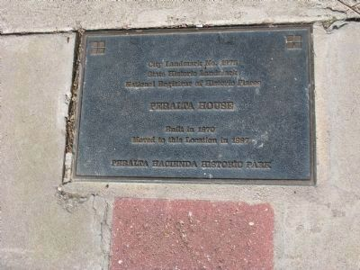 Plaque Mounted in Walkway at the Foot of the Entrance Steps image. Click for full size.