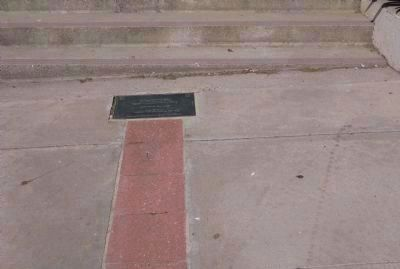 Peralta Hacienda Plaque Embedded in Walkway image. Click for full size.