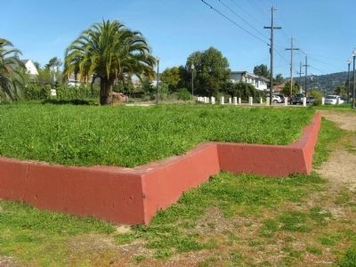 The 1840 Adobe Boundary Wall image. Click for full size.